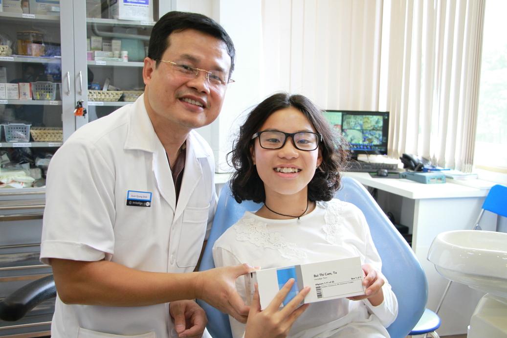 thăm khám nhổ răng khôn